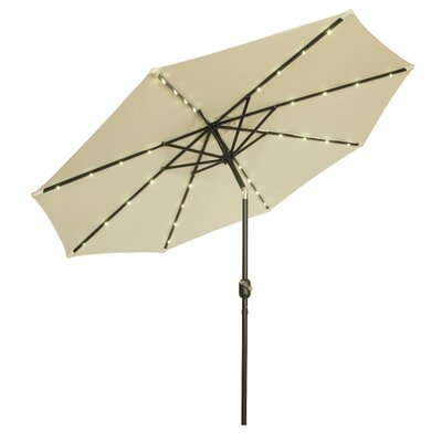 9 Gorman Illuminated Umbrella Fabric: Light Beige