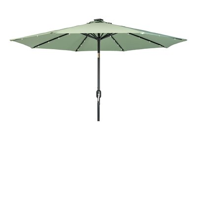 9 Gorman Illuminated Umbrella Fabric: Basil
