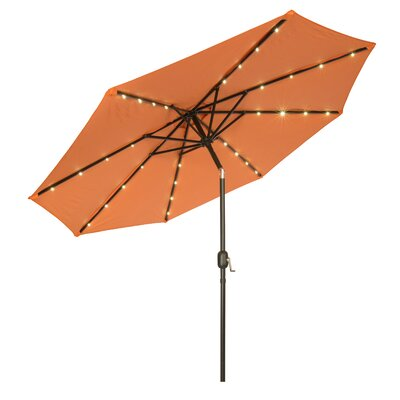 9 Gorman Illuminated Umbrella Fabric: Orange