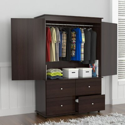 Burditt Armoire Finish: Espresso-Wengue