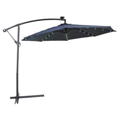 10 Gorman Illuminated Umbrella Fabric: Blue