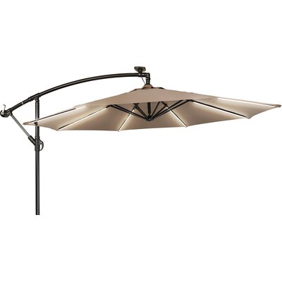 9' Gorman Offset Illuminated and Cantilever Umbrella