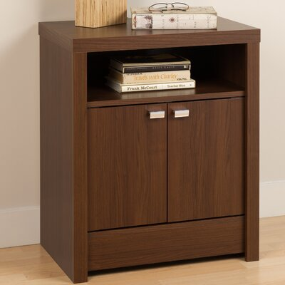 Elani Nightstand Finish: Medium Brown Walnut