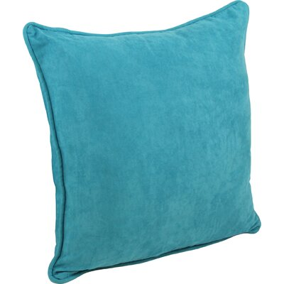 Boulware Floor Pillow Color: Aqua Blue