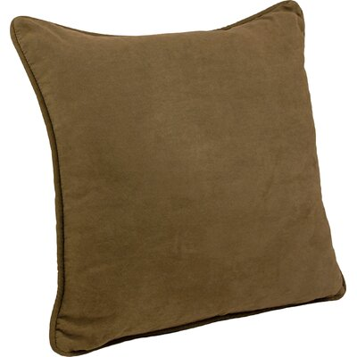 Boulware Floor Pillow Color: Chocolate