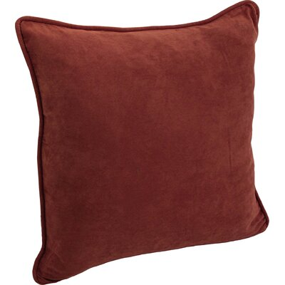 Boulware Floor Pillow Color: Red Wine