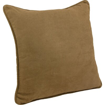 Boulware Floor Pillow Color: Saddle Brown