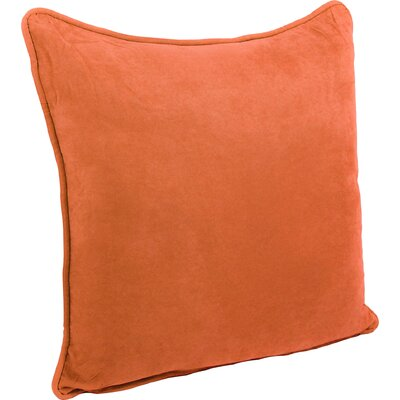 Boulware Floor Pillow Color: Tangerine Dream