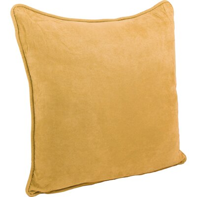 Boulware Floor Pillow Color: Lemon