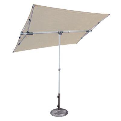 Federico 5 x 7 Rectangular Market Umbrella Fabric: Antique Beige