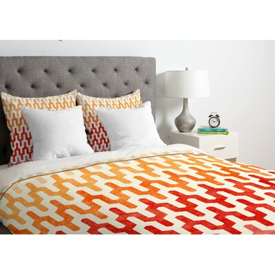 Callis Duvet Cover Size: Twin, Fabric: Lightweight