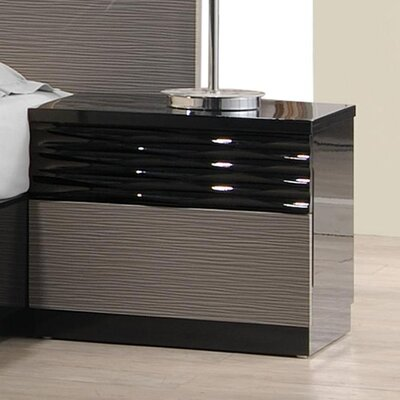 Durante 2 Drawer Nightstand