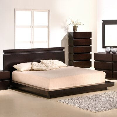 Godin Platform Bed Size: King