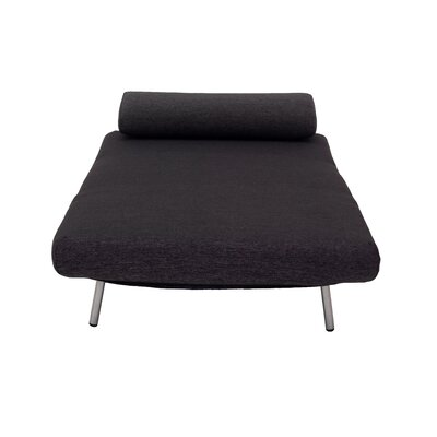 Demelo Lounge Chair Upholstery Color: Black