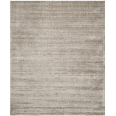 Maxim Hand Woven Gray Area Rug Rug Size: Rectangle 6 x 9