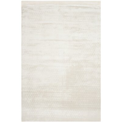 Maxim White Soild Rug Rug Size: Rectangle 9 x 12