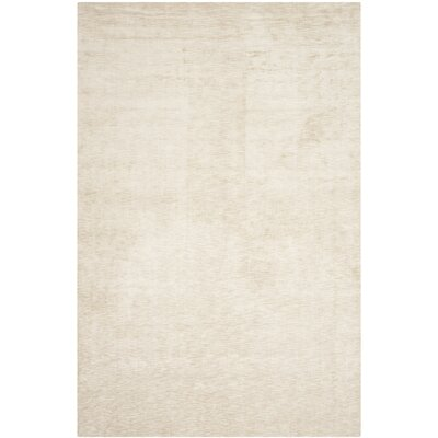 Maxim Beige Soild Rug Rug Size: Rectangle 3 x 5