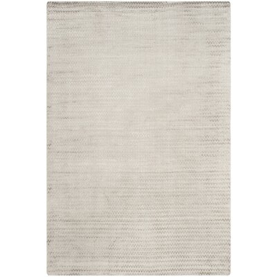 Maxim Graphite Hand-Woven Gray Area Rug Rug Size: Rectangle 9 x 12
