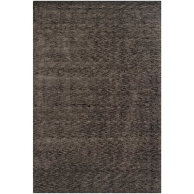 Maxim Charcoal Soild Rug Rug Size: Rectangle 6 x 9