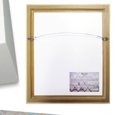 'EBC' Framed Graphic Art on Wrapped Canvas Size: 17