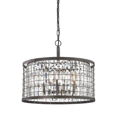 Chilson 6-Light Drum Pendant