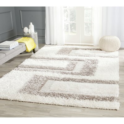 Sinope Grey Area Rug Rug Size: Rectangle 8 x 10