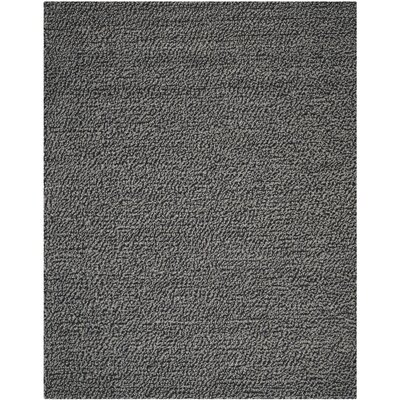 Sinope Dark Gray Area Rug Rug Size: Rectangle 5 x 8