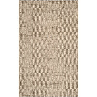 Sinope Brown Area Rug Rug Size: 5 x 8