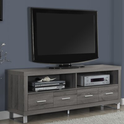 Maner TV Stand Finish: Taupe