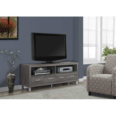 Maner 60 TV Stand Color: Taupe