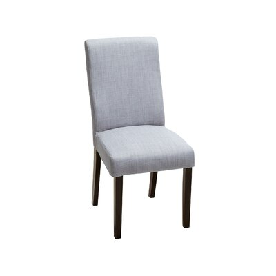 Caverly Parsons Dining Chair Upholstery: Grey