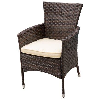 Brayden Studio Carmack Dining Arm Chair with Cushion