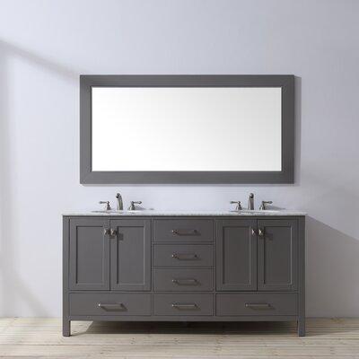 Ankney 72 Double Bathroom Vanity Set with Mirror