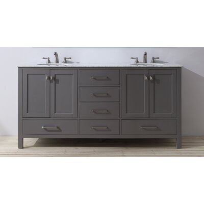 Ankney 72 Double Sink Bathroom Vanity
