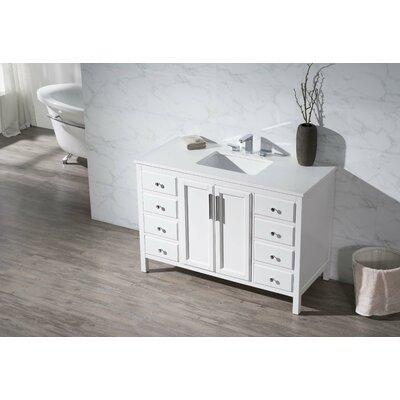 Carpentier 49 Single Sink Bathroom Vanity Set