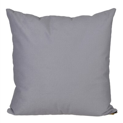 Bornstein Throw Pillow Color: Dark Gray