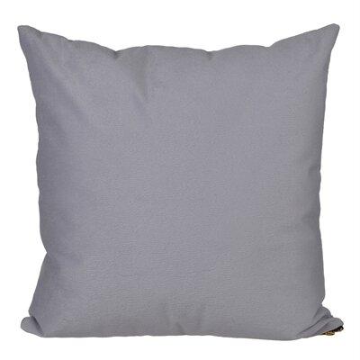 Bornstein Throw Pillow Color: Dark Gray