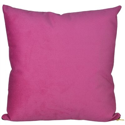Bornstein Throw Pillow Color: Red