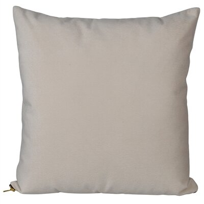 Bornstein Throw Pillow Color: Taupe