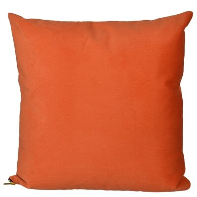 Bornstein Throw Pillow Color: Orange
