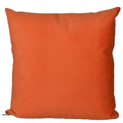 Bornstein Throw Pillow Color: Orange
