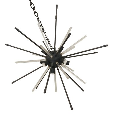 Buerger Sputnik Chandelier Finish: Black