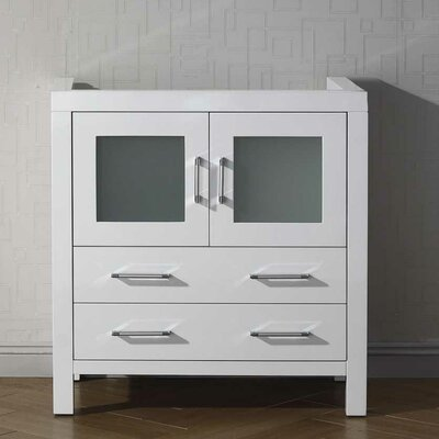 Frausto 32 Bathroom Vanity Cabinet Base Finish: White
