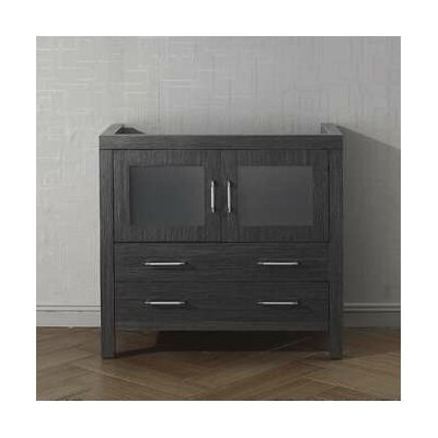 Frausto 32 Bathroom Vanity Cabinet Base Finish: Zebra Gray