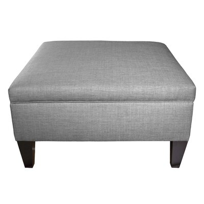 Gamino Cocktail Storage Ottoman Upholstery: Grey