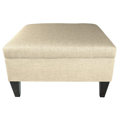 Gamino Cocktail Storage Ottoman Upholstery: Beige