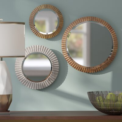 3 Piece Wall Mirror Set