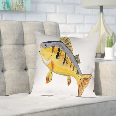 Gina Maher Cintron Throw Pillow Size: 18 H x 18 W x 2 D