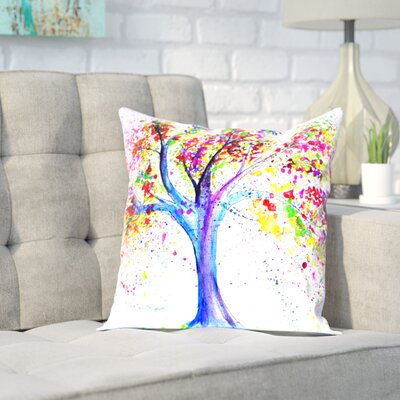 Markus Bleichner Oehler Tree of Life Throw Pillow Size: 20 H x 20 W x 2 D