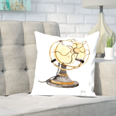 Gina Maher Foshee Throw Pillow Size: 20 H x 20 W x 2 D